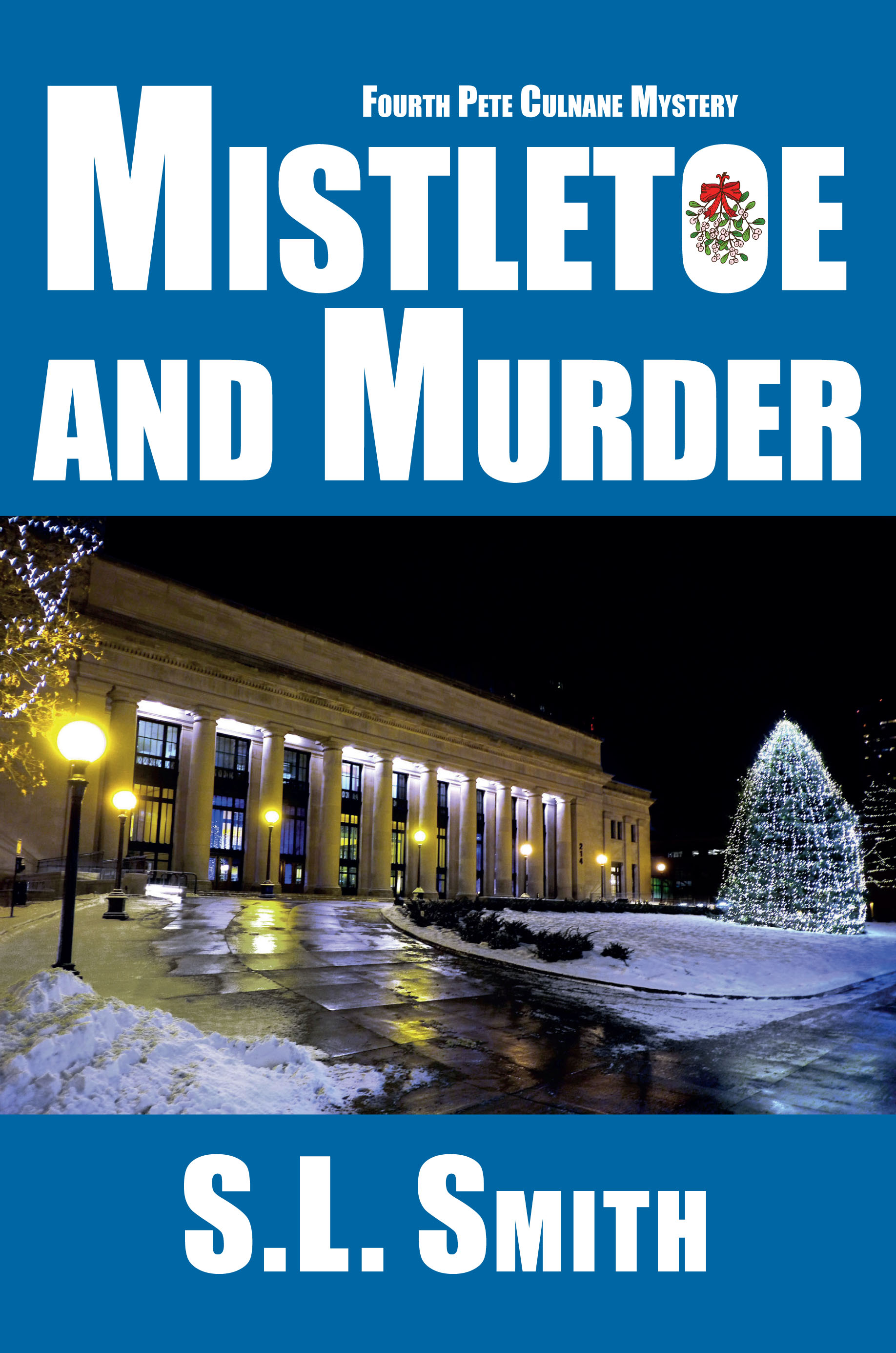 Mistletoe and Murder -cover_Layout